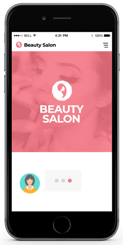 chatbots for beauty and hair salons