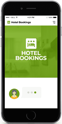 Hotel and travel agency chatbots