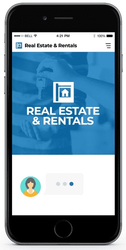 chatbot for real estate and rent