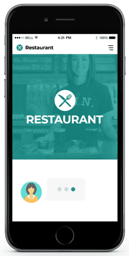 chatbots for restaurant and stores